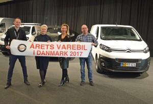 Årets Varebil i Danmark 2017