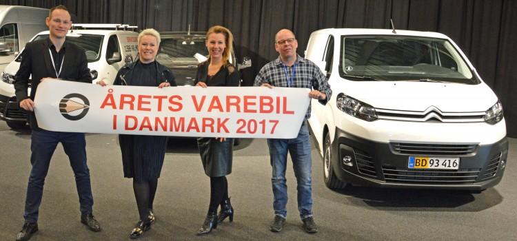 Trillinger er Årets Varebil i Danmark 2017